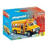 Brinquedo Novo Onibus Escolar Playmobil Sunny 5680