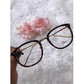 Oculos De Grau Feminino Quadrado Dior - Óculos no Mercado Livre Brasil c765baaf22