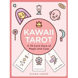Tarot Kawaii Magic Juego De 72 Cartas Y Libro Regalo Cute