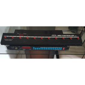 Pre Amp Ada Mp1 Com Valvulas Alemãs Rft Ecc83 + Foot + Midi
