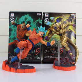 Kit Figures Dragon Ball Z Goku Vs Freezer