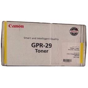 Toner Canon Gpr-29 Amarelo - 2641b004ba Original Gpr 29