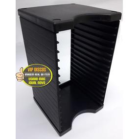 Kit Com 2 Porta Cds Para 15 Cds Modular Em Excelente Estado