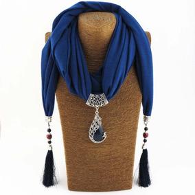 Bufanda De Mujer Collar Joyería Estilo De Étnica Vendimia