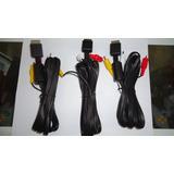 Cable De Audio Y Video De Playstation 1,2,3