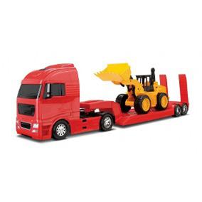 Lançamento Caminhão Carregadeira Brinquedo Infantil 62cm