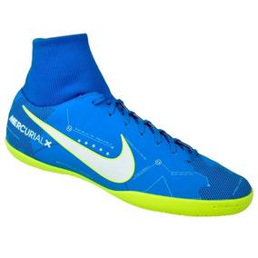 cf9a2ab0f6 Tenis Futsal Nike Cr7 - Chuteiras para Adultos Azul aço no Mercado ...