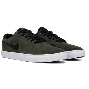 Tenis Nike Sb Check Solarsoft Verde #26
