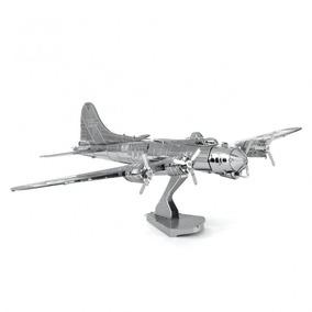 Quebra Cabeça 3d Metal Model Avião B17