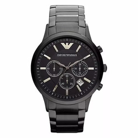 Relógio Pa9898 Emporio Armani Ar2453 Preto Original + Caixa 921cc72056