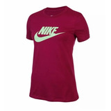 60fbc4bc7e916 Camiseta Feminina Nike Verde Limão no Mercado Livre Brasil