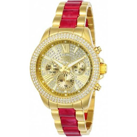 de5381786f8 Relogio Invicta Original Feminino Ouro - Relógios De Pulso no ...