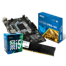 Kit Upgrade I5 7400 3.5 Ghz, Placa Mãe Msi H110, 8gb Ddr4