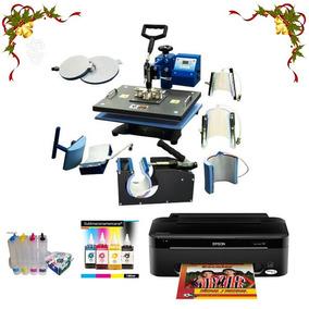 Impresora Xp401 Sublimacion, Sistema Poco Uso