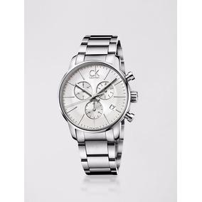 9ef1f9d9a52 Relogio Calvin Klein Prata - Joias e Relógios no Mercado Livre Brasil