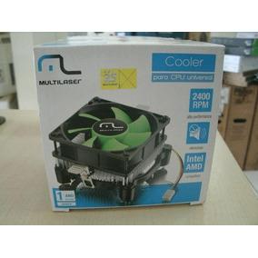 Cooler Universal Multilaser Ga120 Para Processador Amd E Int