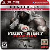 Fight Night Champion Ps3 (6gb) - No Codigo