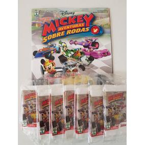 Mickey Sobre Rodas - Álbum E 70 Pacotinhos Lacrados