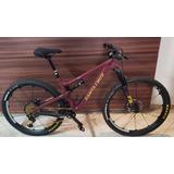 Bicicleta Santa Cruz Tallboy Carbono.