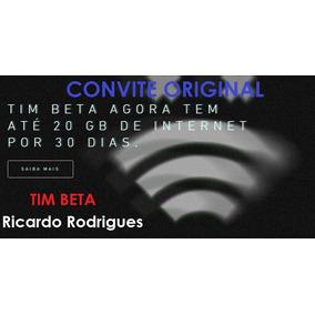 Convite Timbeta Vire Lab 20 Gb + 2000 Min Tim Beta V Betalab