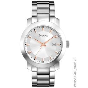 44079acf101 Relogio Feminino Prata Bulova - Relógios De Pulso no Mercado Livre ...