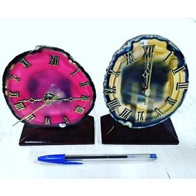 Relógio De Agata Pedra Semi Preciosa Equilibrio Vitalidade 4