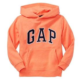 Sudadera Gap Niño Color Naranja Tallas L Y X L
