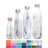 Botella Simple Moderno Onda De Agua - Aislamiento Al Vacío D