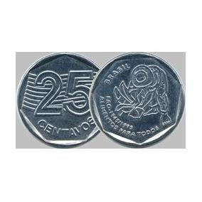 Moeda De 25 Centavos 1995 Comemorativa Fao