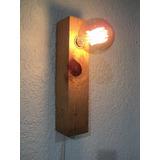 Lámpara Arbotante De Pared Decorativa Foco Vintage