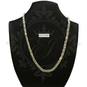 0c8b88735263 Collar Plata Y Oro Hombre - Cadenas y Collares en Mercado Libre ...