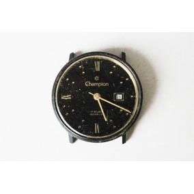 Antigo Relógio De Pulso Champion Com Máquina Eta - No Estado