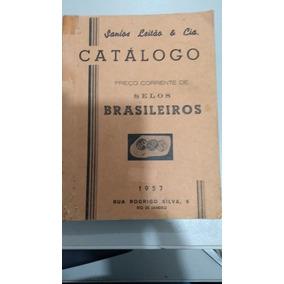 Raridade Catálogo De Selos Santos Leilao E Cia Antigo Coleca