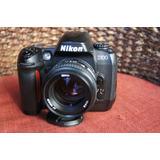 Lente Nikon 50mm 1.4 D Con Cámara Nikon D100 De Regalo!!