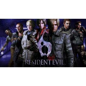 Midia Digital Série Resident Evil 4, 5 E 6 Xbox 360