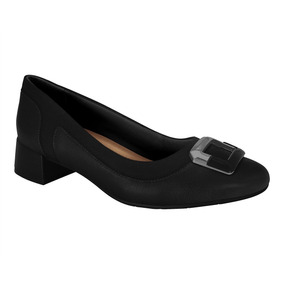 Sapato Feminino Salto Baixo Comfortflex 1995302