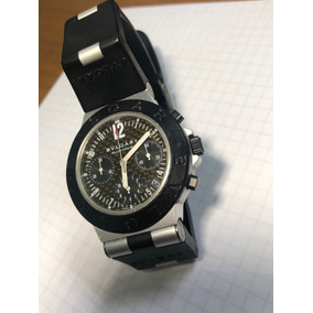 Reloj Bvlgari Diagono Aluminium Chrono Ac 38 Ta