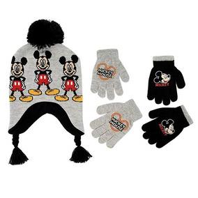 Set De Guantes Y Gorro Para Invierno De Mickey Mouse Disney