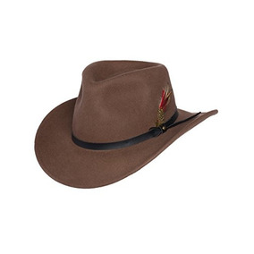 Sombrero De Vaquero De Lana Outback Para Hombres Montana Pec