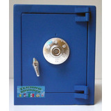 Caja Fuerte Metalica Tipo Alcancia, Abre Con Combinacion