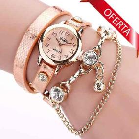 91f5d60a2d3 Relogio Vip Quartz Dourado - Relógios De Pulso no Mercado Livre Brasil