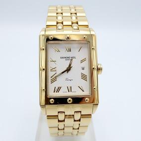 Reloj Raymond Weil Tango Para Caballero Baño De Oro