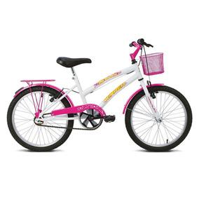 Bicicleta Aro 20 Verden Breeze - Branco E Pink