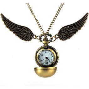 Reloj Snitch Dorada Harry Potter (batería Incluída)