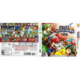 Super Smash Bros Para Nintendo 3ds Y 2ds