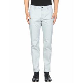 Pantalón Armani Exchange Gris Claro Original Slim Fit