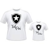 Kit Camisetas Personalizadas Talpai Tal Filho Time Botafogo 88ceea371ab3b