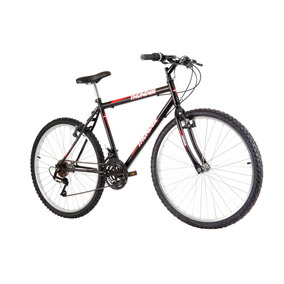 Bicicleta Aro 26 Thunder 18v Preta - Track Bikes