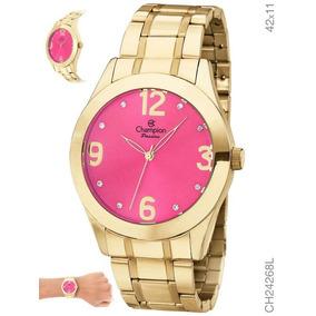 16dee8c52b4a Champion Rosa - Relógios no Mercado Livre Brasil