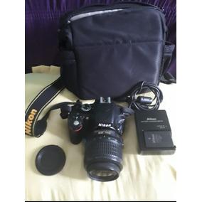 Camera Profissional Nikon D5100 + Lente Nicon 18-55mm